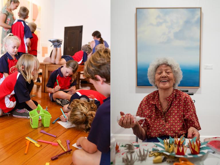 Creative Lifelong Learning Programs at NRCG