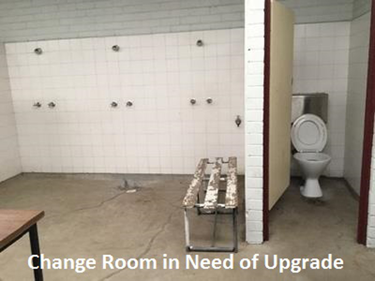 Upgrade to Female Friendly Change Room Facilities