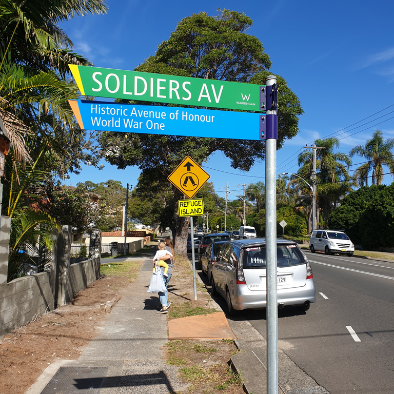 Soldiers Avenue of Honour Revitalisation Program