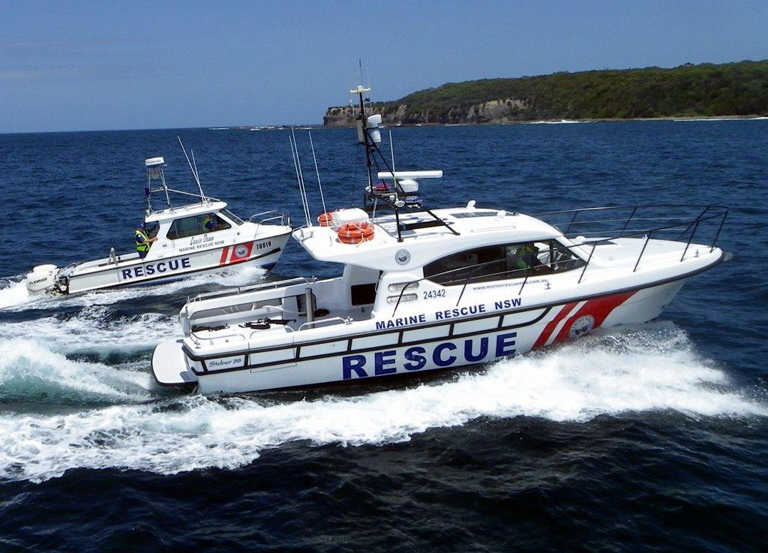 New rescue vessel for Marine Rescue Broken Bay